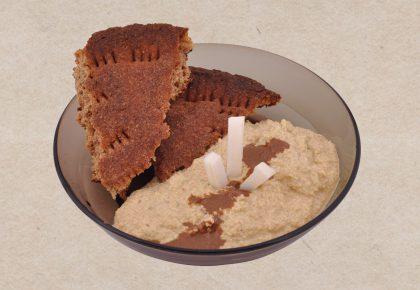 Здрав живот - Суров сос от накиснат нахут и тиквичка