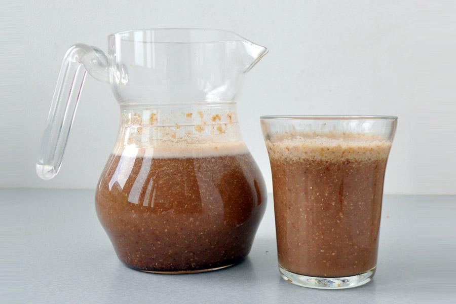 Сладка напитка с ленено семе
