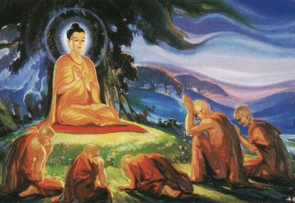 Буда: Кърпата и възлите