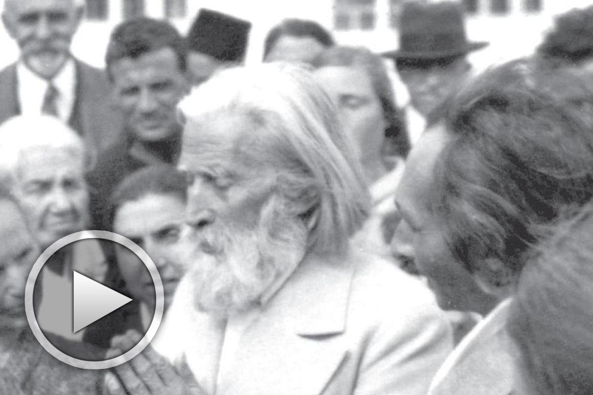 """""""Изгревът"""", документален филм с архивни кадри на Учителя"""