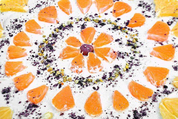 Какво ядат суровоядците? - Ананасова торта с крем от ананас и кашу.