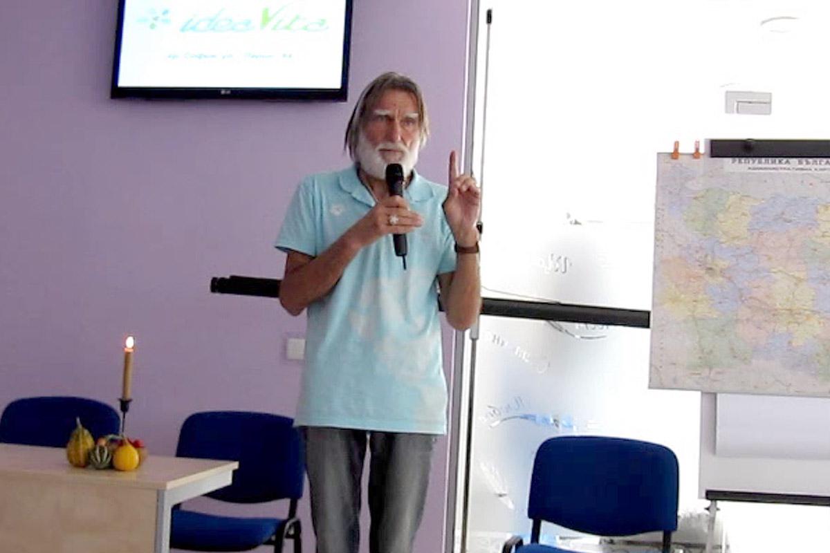 Георги Изворски за дома за тялото и душата - разказ за стъклената пещера