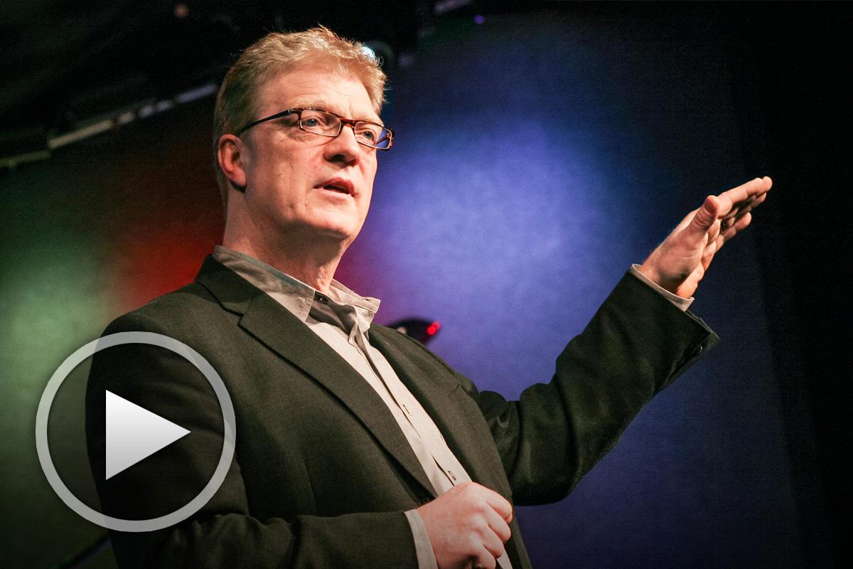 Кен Робинсън говори за образованието