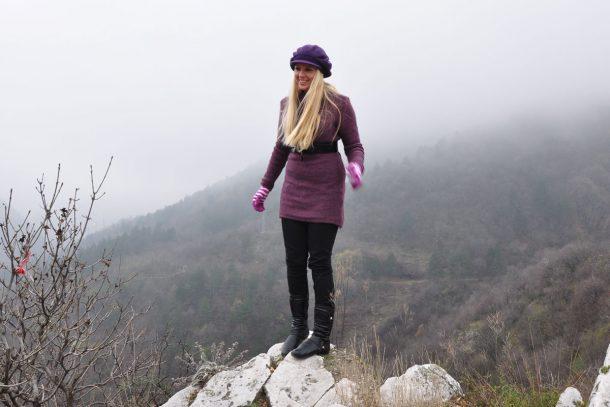 Стефи Божилова на Асеновата крепост