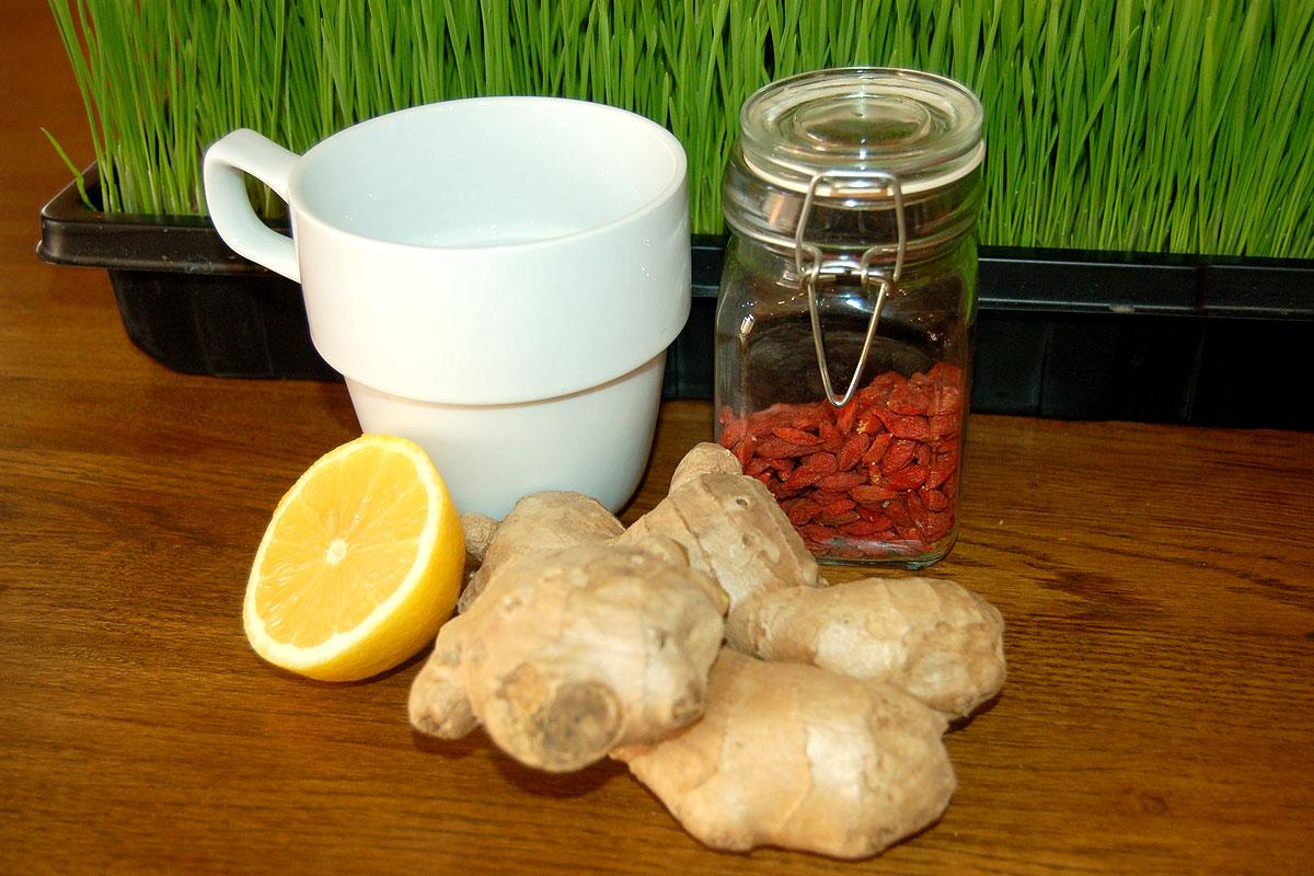 Топла напитка, стимулираща имунната система