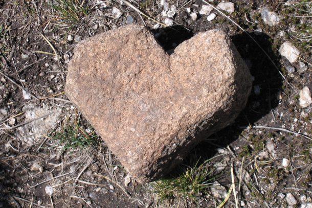 сърце на път в Рила