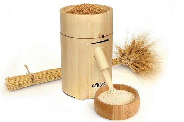 Домашна мелничка за зърно