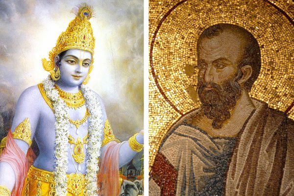 Sri-Krishna-i-Apostol-Pavel