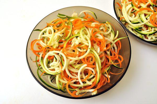 Зеленчуков спагети