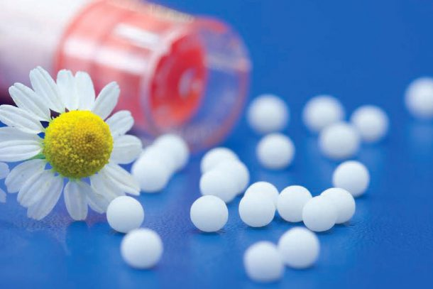 Колин Грифит: Хомеопатия