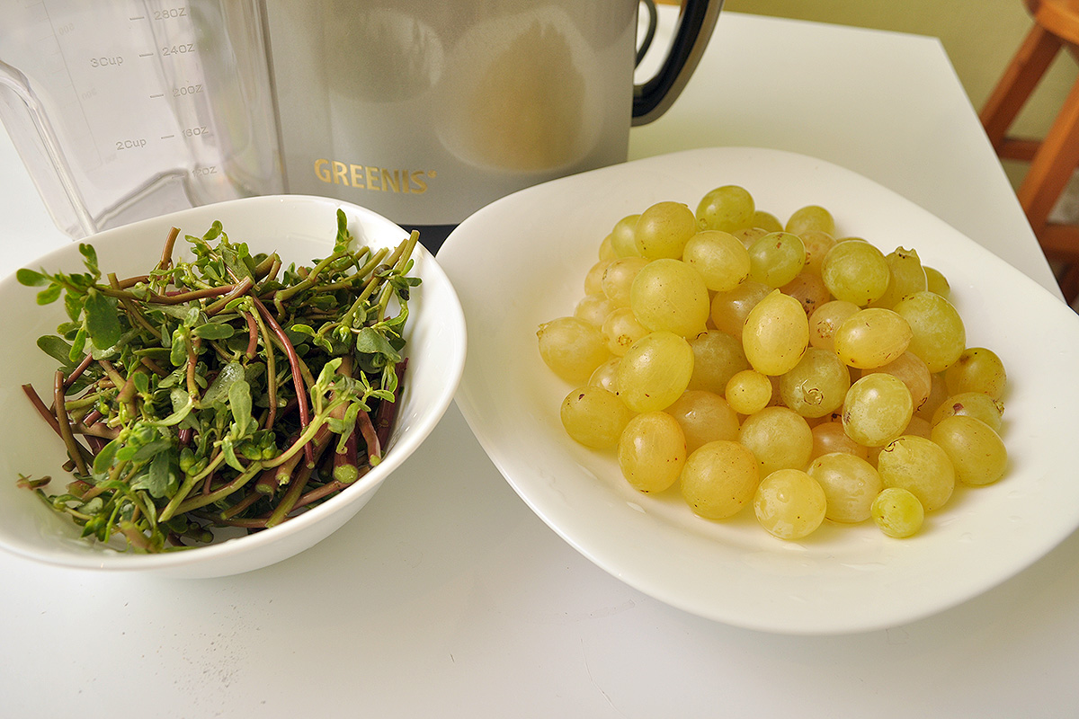 сок от грозде и тученица