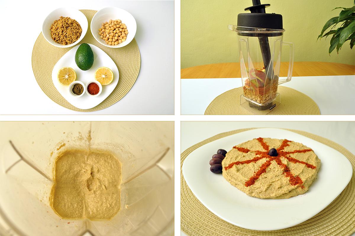 рецепта за хумус с нахут и лимец