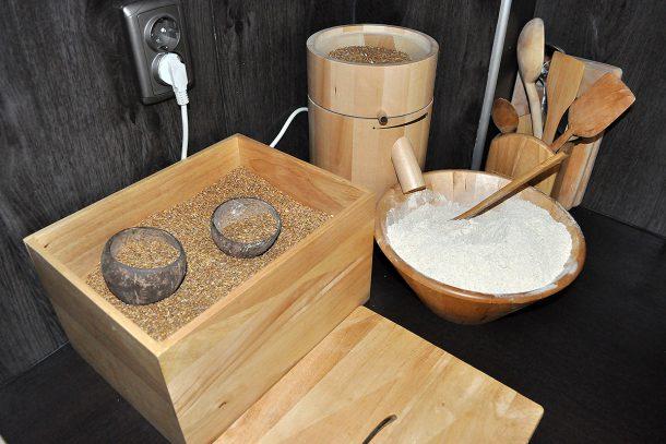 Приготвяне на брашно от лимец