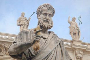 статуя на Свети Петър