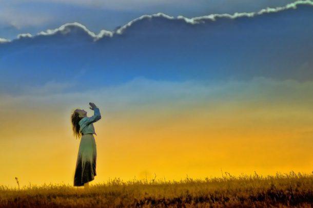 Girl-prayer