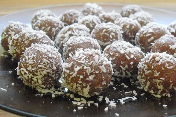Сурови шоколадови трюфели