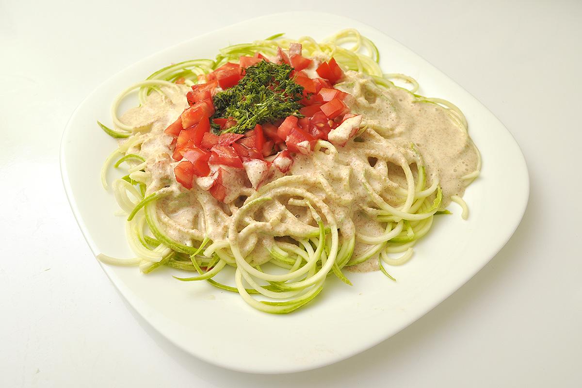 Зеленчукови спагети - вкусни и здравословни (галерия)