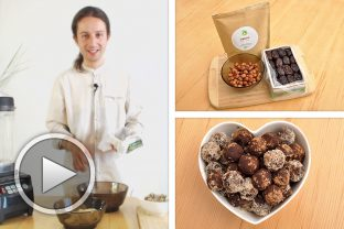 "Здравословни шоколадови бонбони ""Слънчев дар"""