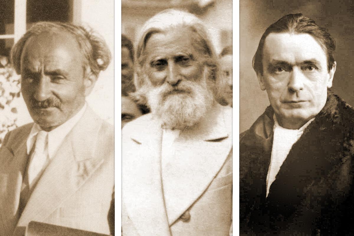Боян Боев, Учителя и Рудолф Щайнер