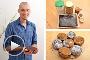 Рожкококосовите бисквитки (или бонбони) на Георги Жеков