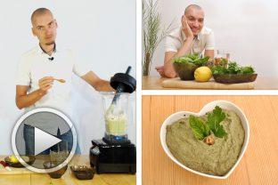 Рецепта за магданозено босилеково песто със слънчоглед и орехи
