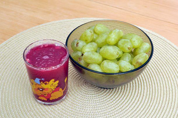 Сок от нар и грозде