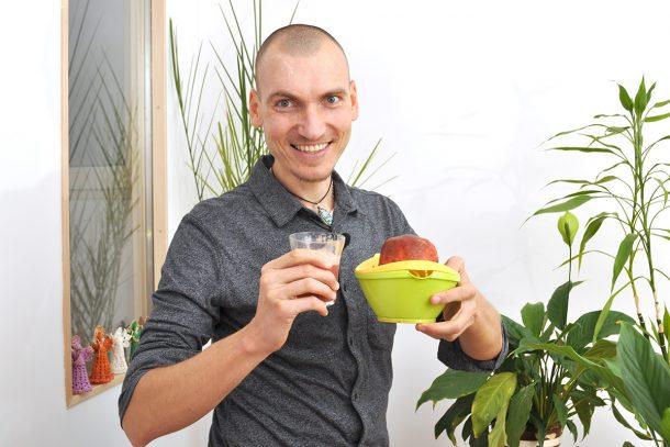Сок от нар и грозде с Георги Жеков