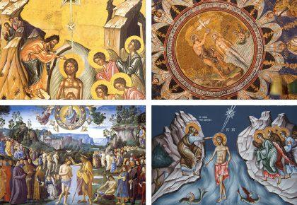 Светъл празник! Богоявление - Христос слиза от небето в Исус