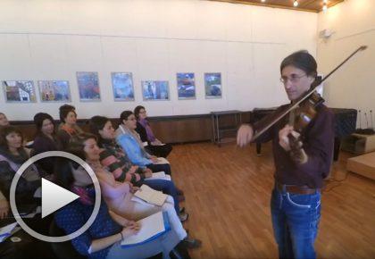 Музикални упражнения с Александър Стойчев