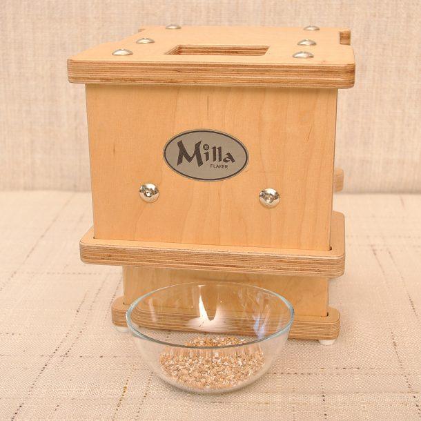 Преса за зърнена закуска - флейкър