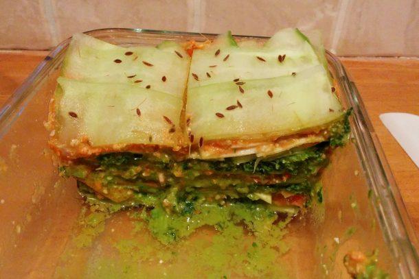 вегетарианска лазаня