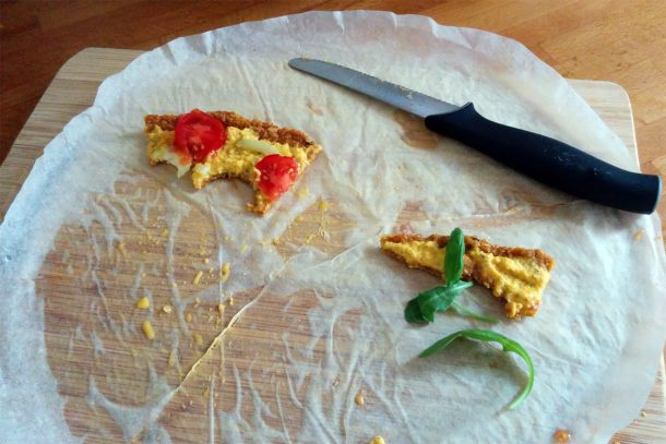 останки от пица
