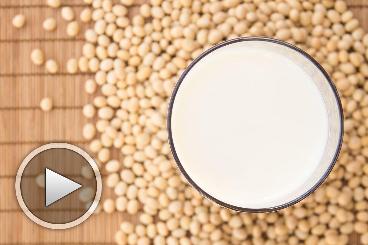 Приготвяне на соево мляко - видео рецепта