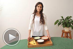 Три рецепти за таратор с три вида ядково мляко