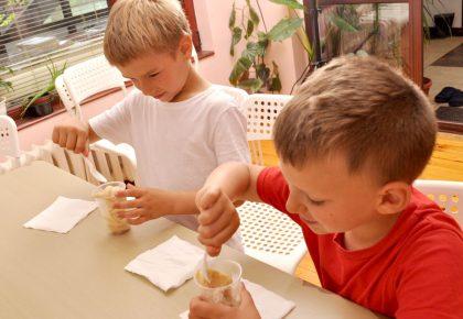 Да се научим да правим сладолед в училище не се оказа сложно начинание
