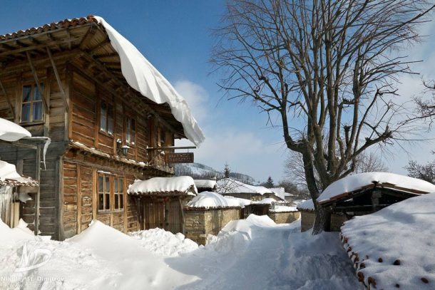 Зима в Жеравна
