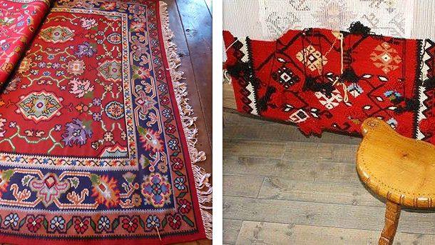 Старокотленски килими и тъкани