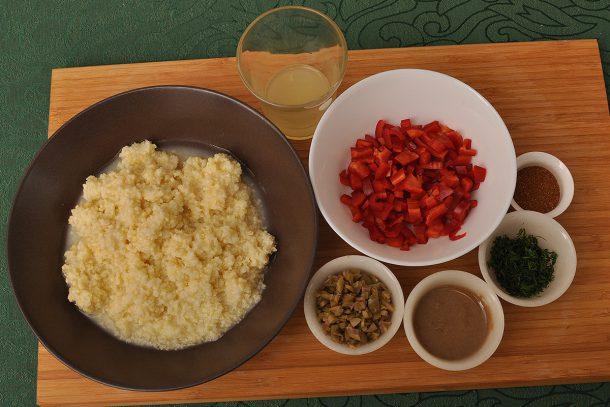 Гозба с просо и зеленчуци