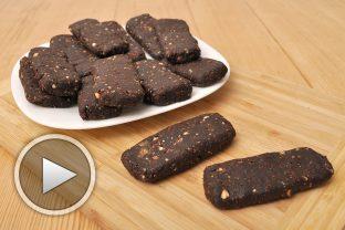 Рецепта за сурови какаови барчета