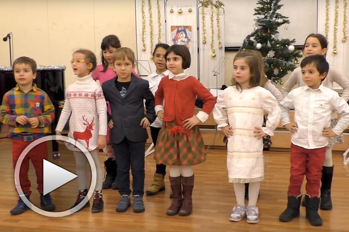 """Коледно тържество на училище """"Изгрев"""" - 2016 г."""