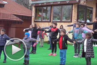 Упражнение с думи и движения за деца