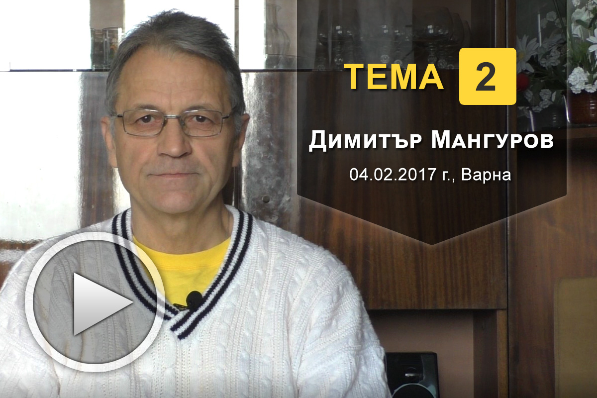 Димитър Мангуров - Тема 2: Небесните Йерархии