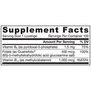 Витамин B12 + Фолиева киселина + пиридоксал-5-фосфат (Р5Р)