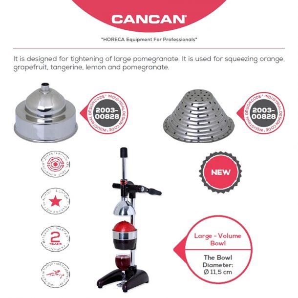 Ръчна преса за нар и цитруси Cancan
