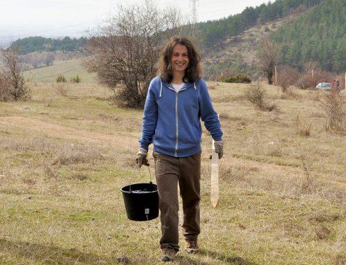 Да засаждаш дървета – един ден на радост около Кремиковския манастир