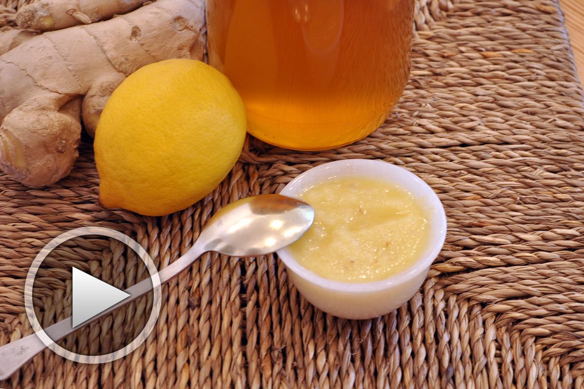 Рецепта за лечебно сладко с джинджифил, лимон и мед