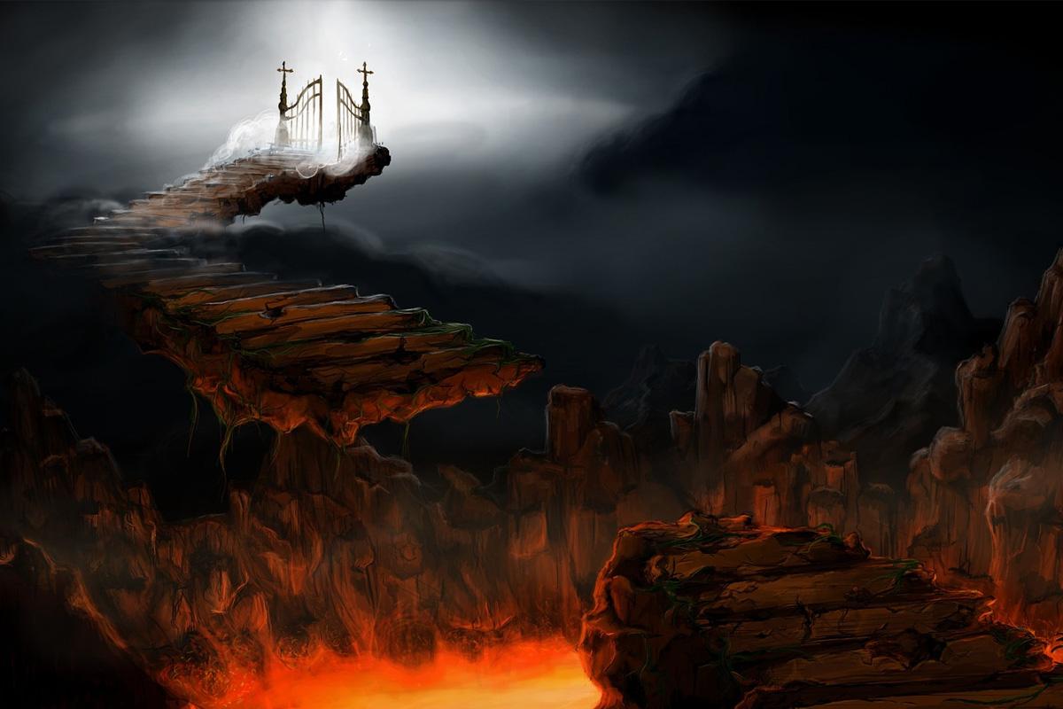 За вечните адски мъки