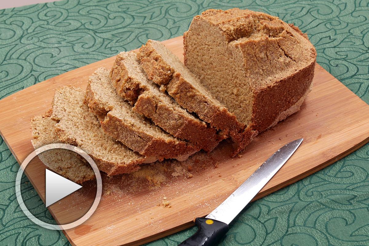 Соден хляб от просо и лимец в хлебопекарна