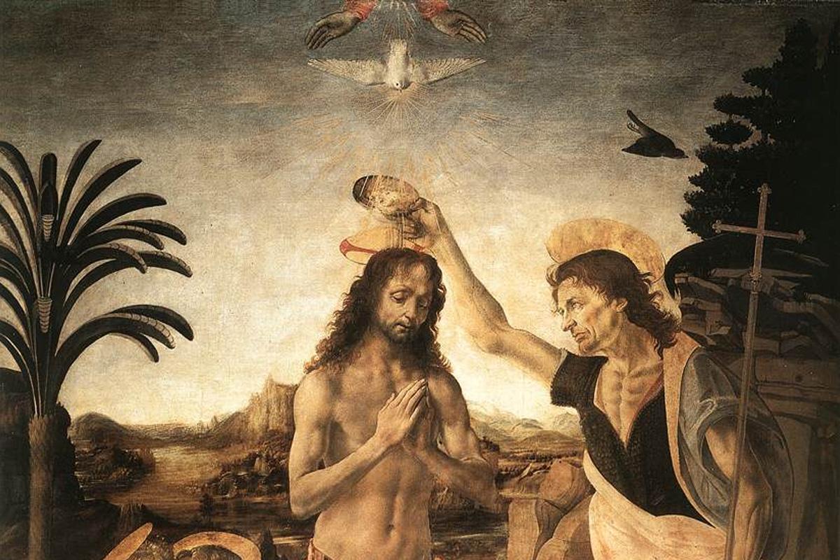 За кръщението в река Йордан според Духовната наука